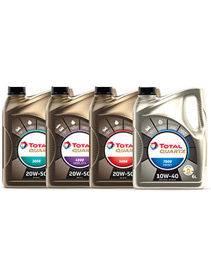 TOTAL QUARTZ Engine Oil Improved Design & Packaging