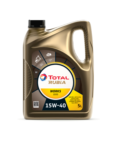 TOTAL QUARTZ Engine Oil - 15W-40