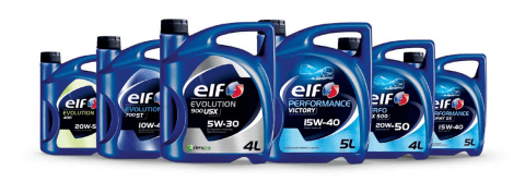 ELF Lubricants for Cars