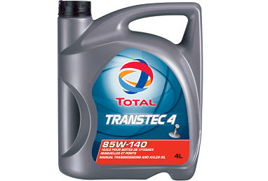 TOTAL TRANSTEC 4 85W-140 Gear Oil